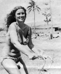 Maui Girl On Bike